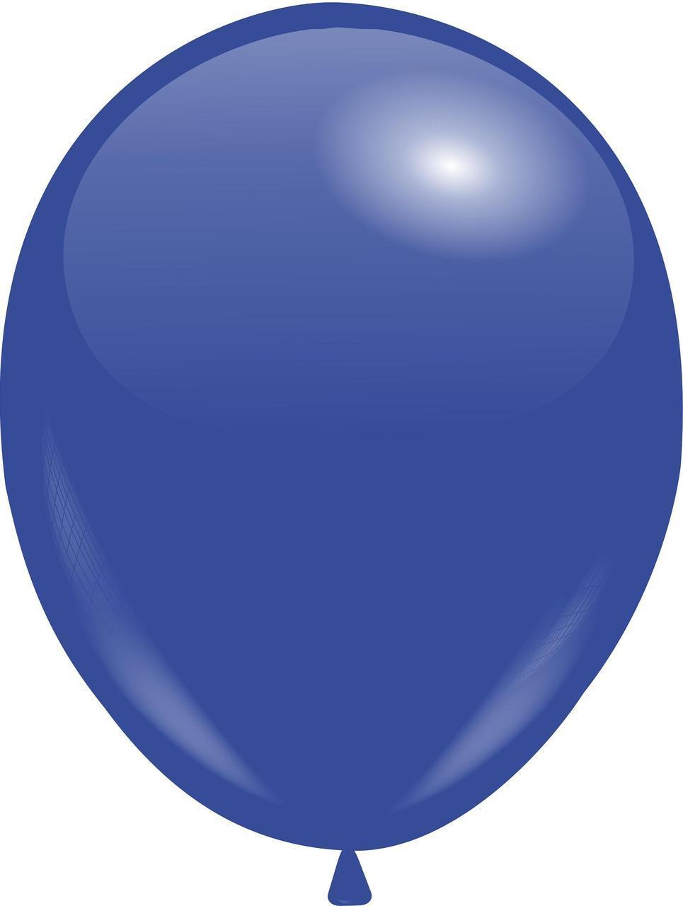 """Кулі 12""""/30 см Пастель Синій темний (Dark Blue)"""