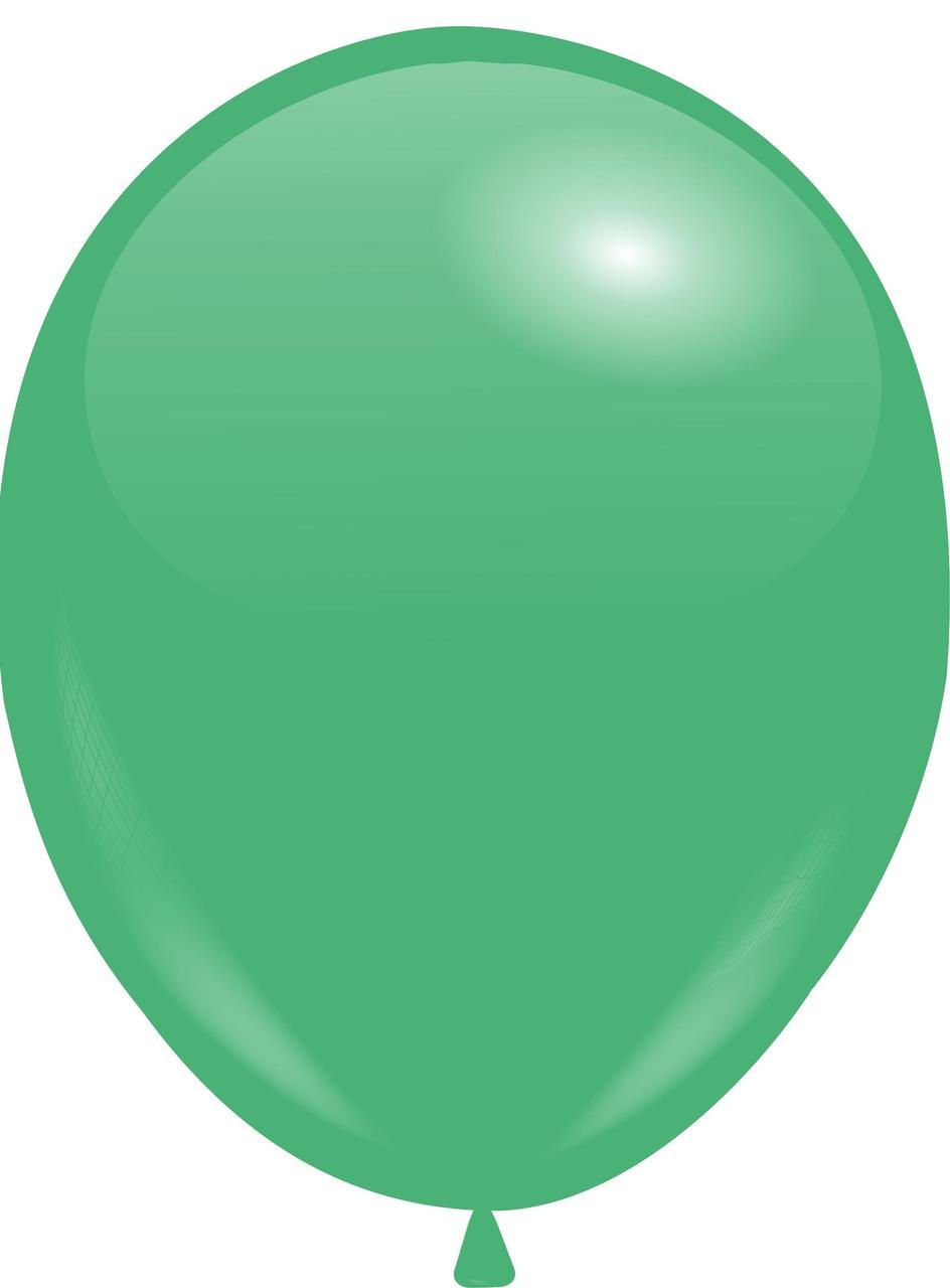 """Кулі 12""""/30 см Пастель Смарагдовий (Emerald Green)"""