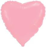 """Куля повітряна фольгований 18"""" Серце Рожеве FLEXMETAL"""