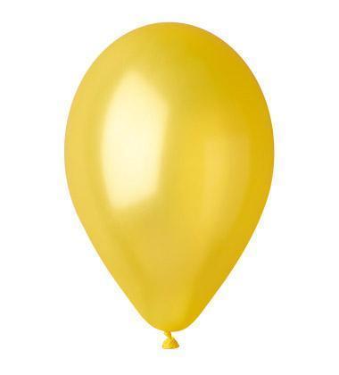 """Кулі 11""""/28 см Металік Жовті 30"""