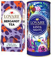 """Чай """"LOVARE"""" Набор """"1001 ночь"""" 80г тубус + """"Bergamot tea"""" 25п * 1,5г (1/5)"""