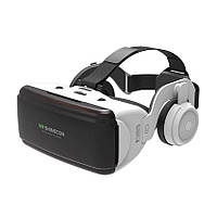 Окуляри віртуальної реальності з навушниками Shinecon SC-G06E (Білий), фото 1