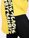 Туника женская Жёлтый,Черный, Горчичный цвет, фото 5