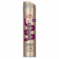 Лак для волос Wellaflex супер сильная фиксация