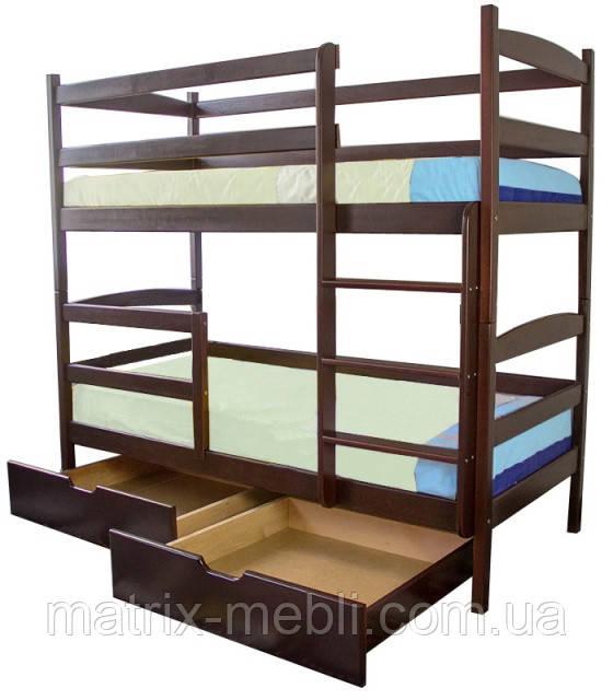 Двухъярусная кровать Дует Ольха