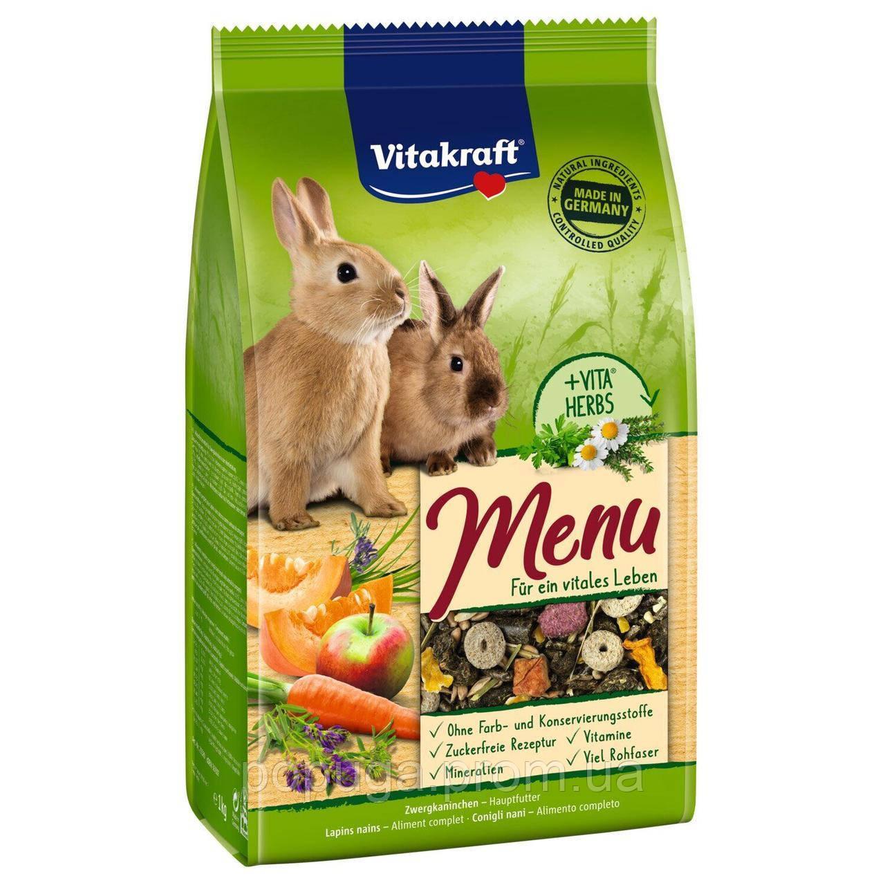 Vitakraft Menu Vital для кроликів, 5 кг