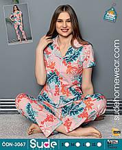 Пижама женская на пуговицах,Sude