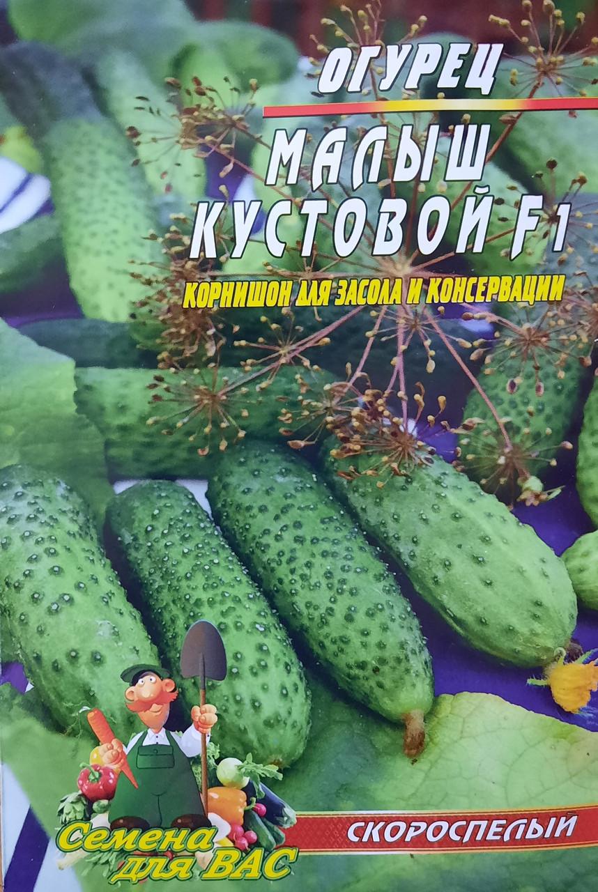 Огурец Малыш кустовой F1 50 семян