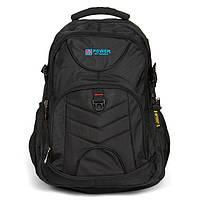 Рюкзак міський спортивний під ноутбук чорний Power in Eavas, фото 1