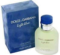 Мужская туалетная вода Dolce & Gabbana Licht Blue Pour Homme 125ml(test), фото 1