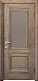 Двері міжкімнатні Канна скло Бронза, Горіх Європейський, 700