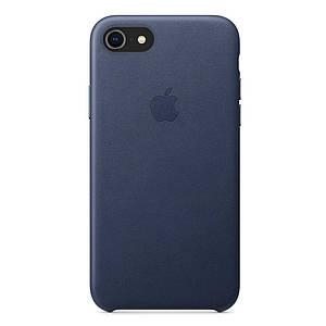 Чохол накладка на iPhone 7/8/SE 2020 good Leather Case midnight blue