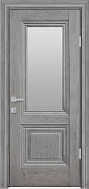 Двері міжкімнатні Канна скло Сатин, Горіх Скандинавський, 900