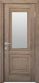 Двері міжкімнатні Канна скло Сатин, Горіх Європейський, 900