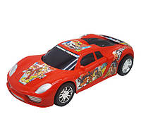 Машинка пластиковая, красный 2225