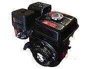 Двигатель BIZON 170F (бензин 6.5 л.с., под шпонку с 2-х ручейным шкивом)