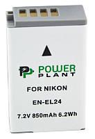Аккумулятор  Nikon EN-EL24 850mAh