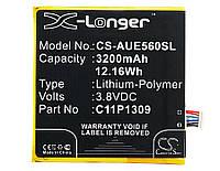 Аккумулятор Asus C11P1309 X-Longer (3200mAh)