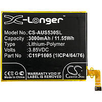 Аккумулятор Asus C11P1605 X-Longer (3000mAh)