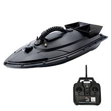 Кораблик для завоза прикормки катер Lingboxianzi T188 1.5кг 500м, черный
