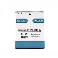 Аккумулятор к телефону Nomi i5013 i5012 NB-5013