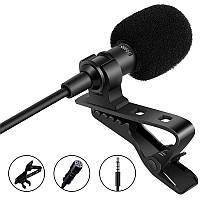 Петличний мікрофон Savetek M2 для смартфона з кліпсою, 4 pin