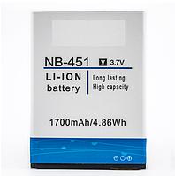 Аккумулятор Nomi NB-451 (1700mAh)