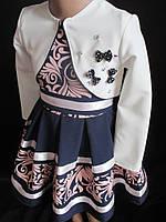 Платья для девочек с белым болеро., фото 1