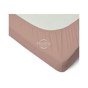 Трикотажная простынь на резинке Nostra (90х200) Бежевая, фото 2