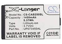 Аккумулятор для CAT B25 UP073450AL 1450 mAh Cameron Sino