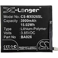 Аккумулятор Meizu BA926 X-Longer (3900mAh)