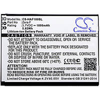Аккумулятор к телефону Highscreen CS-HAF100SL Zera F 3.7V Black 1600mAhr 5.92Wh