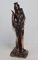 Статуэтка Фортуна с рогом изобилия 31см с медным покрытием