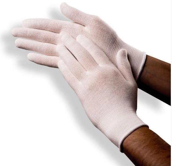 Подперчатки REGULAR від HANDYboo розмір S 1 пара Білі (MAS40027)