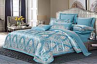 Комплект постельного белья двуспальный Жаккард+сатин 180*220 Krispol (820.028)