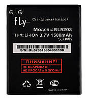 Аккумулятор к телефону Fly BL5203 1500mAh