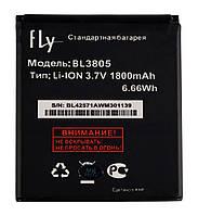 Аккумулятор к телефону Fly BL3805 1750mAh