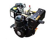Двигатель BIZON 178F (дизель 7 л.с., шлицы 25 мм)