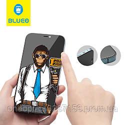 Захисне скло 2.5 D 0,26 mm BLUEO 2.5 D Full Cover Anti-Spy для iPhone 12 pro Max Black