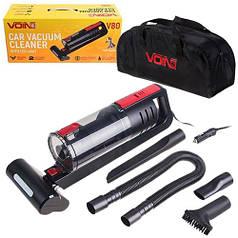 """Пилосмок """"VOIN"""" V-80 120W/Turbo щітка/Led ліхтар/вологе і сухе чищення/сумка"""