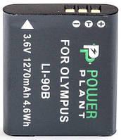 Аккумулятор PowerPlant Olympus Li-90B 1270mAh
