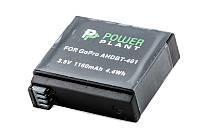 Аккумулятор PowerPlant для GoPro AHDBT-401 1160mAh