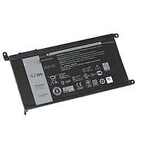 Аккумулятор Dell WDX0R 11.4V 42Wh Inspiron 15 5565 5567 5568 5578 13 5368 5378 5379 7368 7460 14-7460 P58F