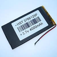 Аккумуляторная батарея Polymer battery 3766125P (3.7*66*125mm) 4000mAh