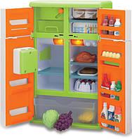 Игровой набор холодильник с продуктами Keenway. Детский игрушечный холодильник