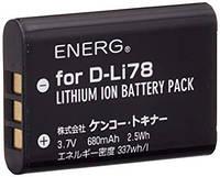 Аккумулятор PENTAX D-LI78 680mAh