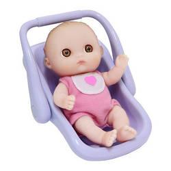 Пупс-малыш JC Toys с автокреслом, 13 см