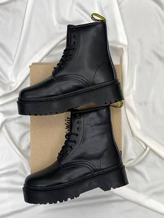 Женские кожаные ботинки Dr. Martens Jadon Total Black, фото 2