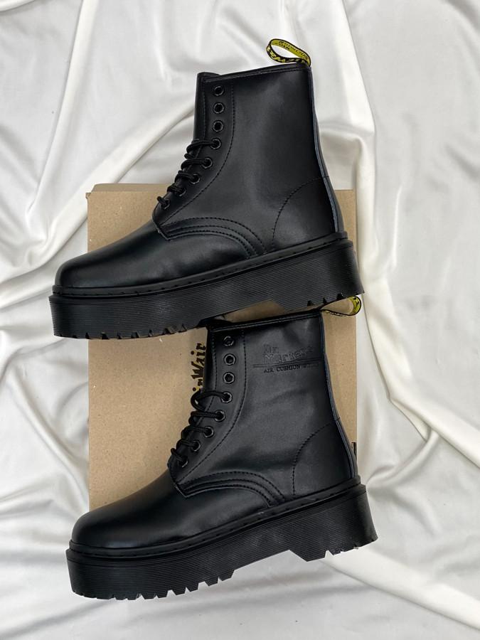 Женские кожаные ботинки Dr. Martens Jadon Total Black