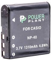 Аккумулятор PowerPlant Casio NP-40 1310mAh